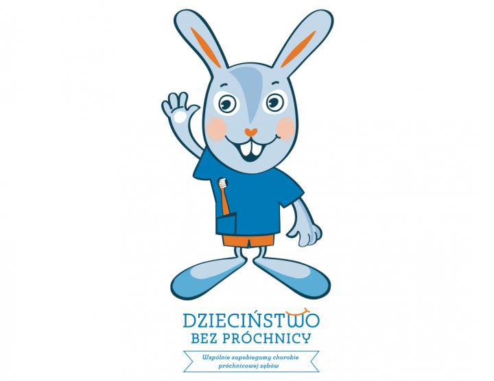Znalezione obrazy dla zapytania projekt dzieciństwo bez próchnicy królik pampiś